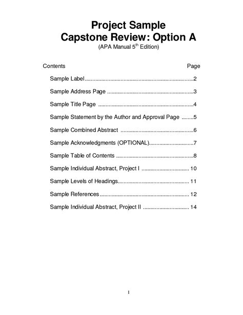 Table of contents format for research papers explorable png 1275x1650